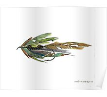 Fishing Fly #1 Poster