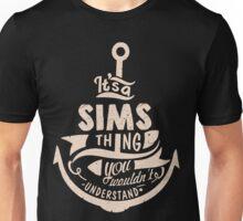 It's a SIMS shirt Unisex T-Shirt