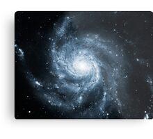 Whirlpool Galaxy [Dark Blue] | Fresh Universe Metal Print