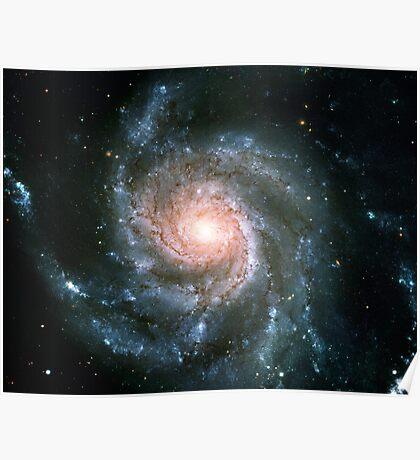 Whirlpool Galaxy Original   Fresh Universe Poster