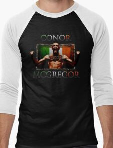 Conor - McGregor Irish Legend of the UFC Men's Baseball ¾ T-Shirt