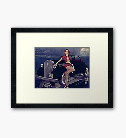 Classic Style Framed Print