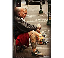 Hanging out in Hosier Lane Photographic Print