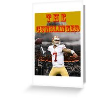 KAEP THE GUNSLINGER Greeting Card