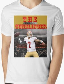 KAEP THE GUNSLINGER Mens V-Neck T-Shirt