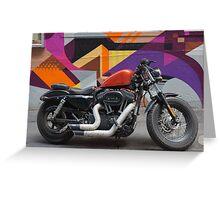 Harley on Hosier Lane Greeting Card