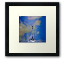 world in a drop Framed Print