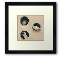 Who Stole my Ladder? Framed Print