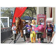 Guinness World Records London Marathon Poster