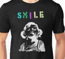 Banksy Smile Girl Children Funny Unisex T-Shirt