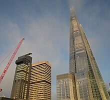 Shard London by Keith Larby
