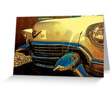 55 Caddy Greeting Card