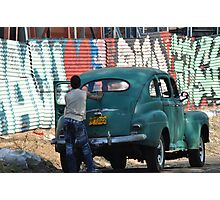 Mean Street Havana Photographic Print