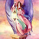 The Rose Angel by Janet Chui