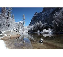 Yosemite - Winter reflections Photographic Print