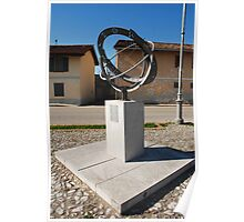 Armillary Sphere in Aiello Poster
