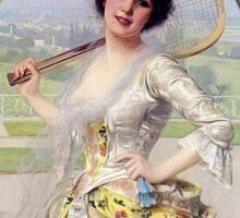 Badminton anyone? Sticker