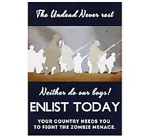 Your country needs you! Photographic Print