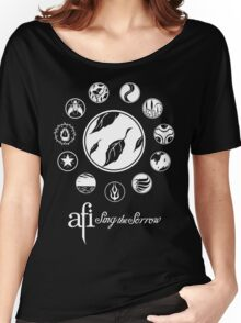 AFI Sing The Sorrow Women's Relaxed Fit T-Shirt
