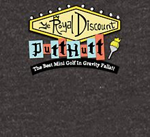 Gravity Falls Mini Golf - Slate Gray Unisex T-Shirt