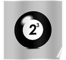 Eight Ball Poster