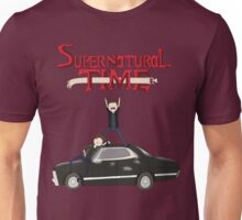 Supernatural Adventure Time Unisex T-Shirt