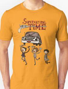 Supernatural Adventure Time T-Shirt