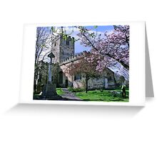St Mary the Virgin Greeting Card