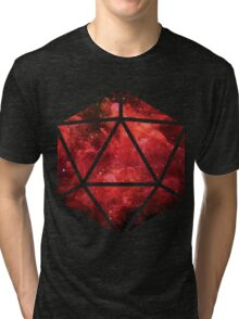 D20 Broken Sight Tri-blend T-Shirt