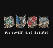 Attack on Titan - Shingeki No Kyojin Kids Clothes