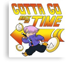 Time Traveling Trunks! Canvas Print
