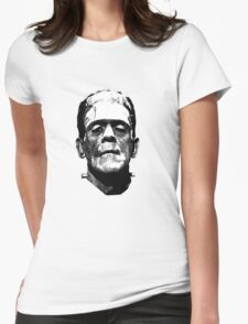 Frankenstein Womens Fitted T-Shirt