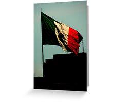 La Bandera Greeting Card