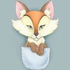 Pocket Fox by SprawlingPuppy