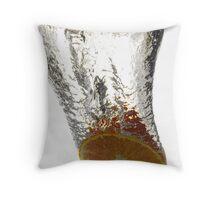 Citrus splash Throw Pillow