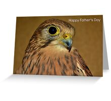Kestrel Father's Day Card Greeting Card