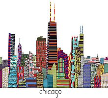 Chicago city skyline by bri-b