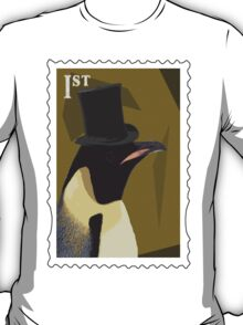 Top Hat Penguin T-Shirt