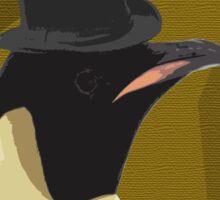 Top Hat Penguin Sticker