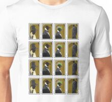 Penguin Stamps Unisex T-Shirt