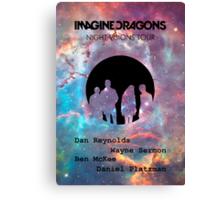 imagine Dragons - Night Visions Canvas Print