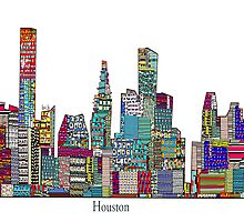 Houston skyline by bri-b