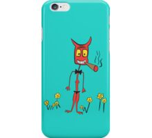 Smokin Devil iPhone Case/Skin