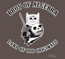 BROS OF ALGEBRA KIDS SIZES One Piece - Short Sleeve