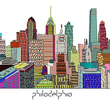 Philadelphia skyline by bri-b