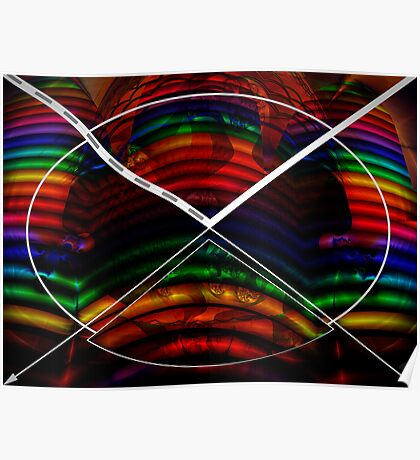 Colorful Bows Poster
