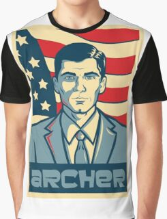 american archer red white and blue Graphic T-Shirt