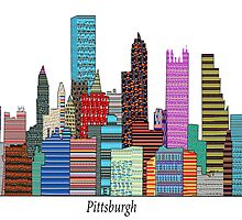 Pittsburgh SKYLINE  by bri-b