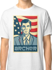 american archer red white and blue Classic T-Shirt