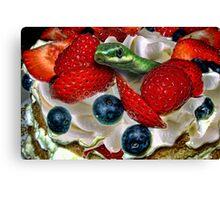 Dessert in Eden Canvas Print